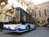 تشغيل أول أتوبيس كهربائى فى مصر