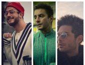 سعد لمجرد ليس الأول.. أحمد الفيشاوى و عمرو صالح سبقوه فى حلق الودان.. صور