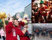 صور.. العالم هذا المساء.. المدن الألمانية تتزين استعدادا للاحتفال بأعياد الميلاد.. الشرطة الهندية تعتقل 10 أشخاص على خلفية اشتباكات بسبب قانون الجنسية.. الصينيون يحتفلون بالذكرى الـ 20 لاستقلال ماكاو