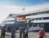ميناء السخنة يستقبل السفينة السياحية CLio وعلى متنها 200 سائح برحلة اليوم الواحد