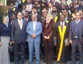 دار العلوم تكرم الزميل محمد ثروت فى ختام مبادرة تعليم 1000 أفريقى اللغة العربية