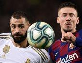 ملخص مباراة كلاسيكو برشلونة ضد ريال مدريد فى الدورى الإسبانى