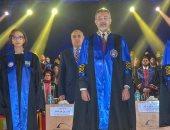 نائب محافظ الإسكندرية تشارك فى حفل تخرج  طلاب التعليم الدولى  بكلية الطب