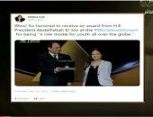 """""""من مصر"""": إشادات واسعة على مواقع التواصل الاجتماعي بمنتدى شباب العالم"""