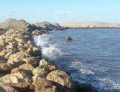 """""""هيئة الشواطىء """" تنهى أعمال الحماية العاجلة لعزبة البرج من التغيرات المناخية"""