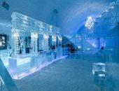 استقبل أكثر من مليون زائر ..افتتاح أول فندق مصنوع من الثلج فى السويد.. صور