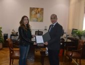 الدكتورة منى أبو هاشم مديرا لوحدة مناهضة العنف بجامعة الزقازيق