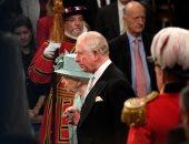 الملكة اليزابيث تصل مقر البرلمان البريطانى لافتتاح دورته الجديدة