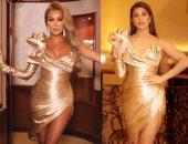 جاكلين فرنانديز ومايا دياب بنفس الفستان من نيكولا جبران.. مين الأجمل؟