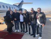 تركى آل الشيخ ينشر صورة أمير كرارة وعمرو مصطفى وحماقى لدى وصولهم الرياض