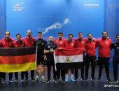 مصر تهزم ألمانيا 2 / 1  وتتأهل لنصف نهائي بطولة العالم للاسكواش