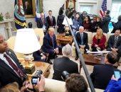 ترامب يستقوى بأعضاء الكونجرس الجمهوريين فى مواجهة حملة عزله