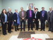 رئيس الإنجيلية يستقبل وفدًا من مجلس كنائس الشرق الأوسط