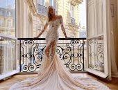 ديفون وندسور تكشف عن المصمم العربى لفستان زفافها المذهل.. تفتكرى مين؟