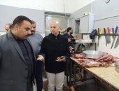 صور.. حملة مكبرة على مطاعم الأغذية بأبو كبير فى الشرقية وإعدام نصف طن أغذية فاسدة