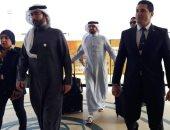 الوفود المشاركة بمنتدى شباب العالم تغادر مطار شرم الشيخ..صور