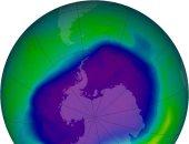 انخفاض مستوى الأوزون فوق القطب الشمالى