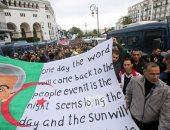 صور.. الجزائريون يواصلون الاحتجاج بعد تنصيب رئيس جديد