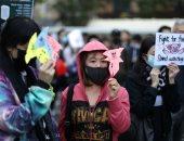 تظاهرات فى هونج كونج تطالب بالديمقراطية وعدم القمع فى البلاد