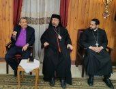 رئيس الطائفة الإنجيلية يهنئ بطريرك الكاثوليك بعيد الميلاد فى البطريركية
