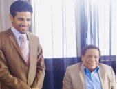 """حمدى الميرغنى فى رسالته لعادل إمام: """"شرف حقيقى ليا الوقوف أمام الأستاذ"""""""