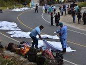 فيديو وصور.. ارتفاع حصيلة ضحايا حادث جواتيمالا إلى 23 شخصا