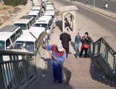 رئيس حى البساتين يعلن نقل موقف السرفيس من ميدان صقر قريش