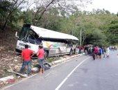 صور.. ارتفاع حصيلة حادث تصادم بين حافلة وشاحنة بجواتيمالا إلى 20 شخصا