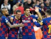 هجوم برشلونة يتفوق على 90% من أندية الدورى الإسباني.. فيديو