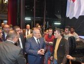 رئيس جامعة القاهرة يجتمع باللجنة المنظمة لحفل عيد العلم لبحث الترتيبات النهائية