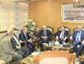 وزير العدل يستقبل رئيس القضاء الأعلى والنائب العام