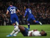 لقطات لا تفوتك من ديربى لندن بين توتنهام ضد تشيلسي في الدوري الإنجليزي