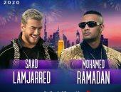 توافد الجمهور على حفل محمد رمضان وسعد لمجرد فى دبى
