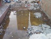 قارئ يشكو من انتشار المياه الجوفية شارع أبورواش ببشتيل البلد
