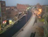 تطوير شارع جمال عبد الناصر بالحوامدية وكورنيش منشأة القناطر