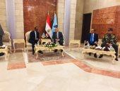 """وزير دفاع الصومال: مصر بلدى الثانى.. ونفتح معها مجالات تعاون """"فيديو وصور"""""""