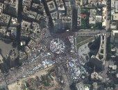 ميدان التحرير يتصدر أفضل صور من الفضاء خلال العقد الماضى