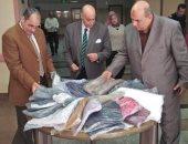 صور.. جامعة المنوفية تنظم معرضا خيريا للملابس للمرضى والمحتاجين