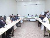 وفد تشادى يطلع على سير مفاوضات السلام السودانية بجوبا