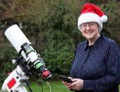 عالمة فلك تلتقط صورة لسديم على شكل شجرة عيد الميلاد