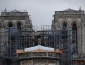كنيسة نوتردام معرضة للانهيار فى حالة إزالة سقالات الترميم.. اعرف التفاصيل