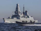 البحرية البريطانية تستأنف مرافقة سفن بلادها خلال مرورها فى مضيق هرمز