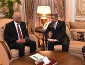 رئيس البرلمان يبحث مع الكاتب الصحفى ياسر رزق وضع أفريقيا على أجندة الإعلام