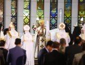 بطريرك الكاثوليك يترأس قداس عيد الميلاد وسط حضور كثيف