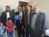 صور.. جامعة الفيوم تنظم قافلة طبية بقرية كحك بحرى بمركز يوسف الصديق