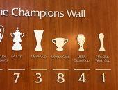 شاهد 47 لقبا تزين حائط بطولات ليفربول