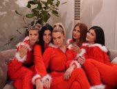 """كايلى جينر تتحول لـ""""سانتا كلوز"""" فى احتفالات أعياد الكريسماس"""
