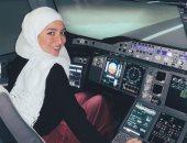 فيديو.. تفاصيل قيادة أول سورية لطائرة ببريطانيا تمهيدا للحصول على رخصة طيران