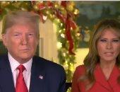ميلانيا ودونالد ترامب يهنئان الأمريكيين بعيد الميلاد المجيد.. فيديو