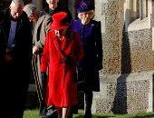 العائلة الملكية فى بريطانيا تحتفل بعيد الميلاد فى كنيسة مريم المجدلية